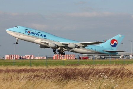 Boeing 747-400 - HL7404 operated by Korean Air