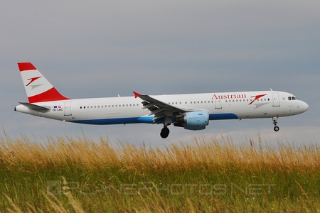 Airbus A321-111 - OE-LBC operated by Austrian Airlines