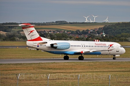 Fokker 100 - OE-LVK operated by Austrian Airlines