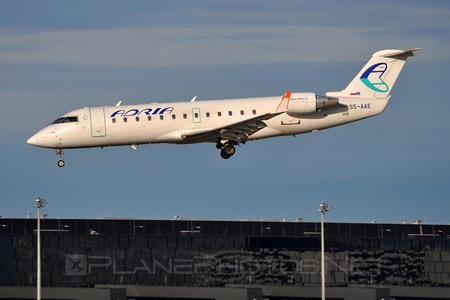 Bombardier CRJ200LR - S5-AAE operated by Adria Airways