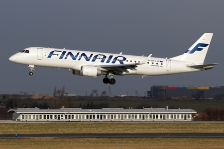 Embraer 190-100LR - OH-LKR operated by Finnair