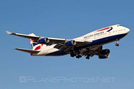 Boeing 747-400 - G-BYGE operated by British Airways