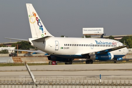 Boeing 737-200 - C6-BFM operated by Bahamasair