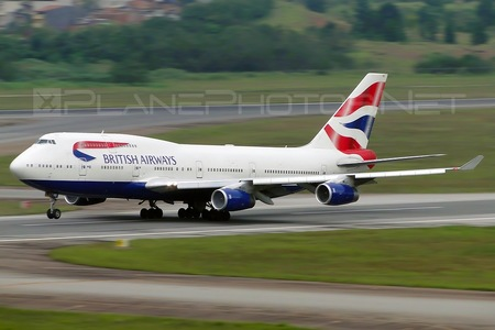 Boeing 747-400 - G-CIVO operated by British Airways