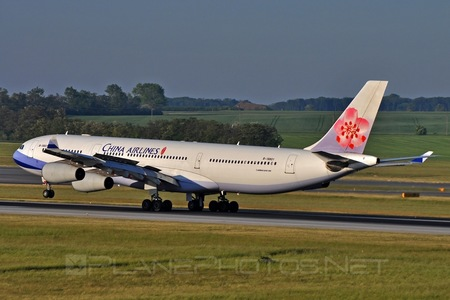 Airbus A340-313E - B-18801 operated by China Airlines