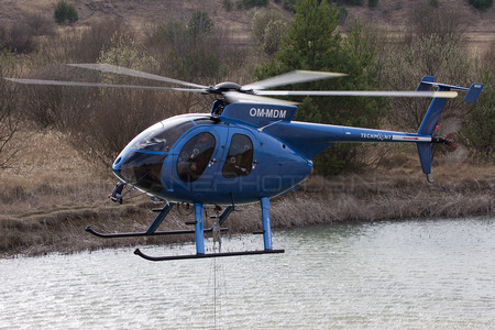 MD Helicopters MD-530F - OM-MDM operated by TECH-MONT Helicopter company