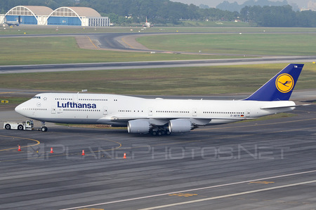 Boeing 747-8 - D-ABYM operated by Lufthansa