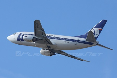 Boeing 737-500 - SP-LKD operated by LOT Polish Airlines
