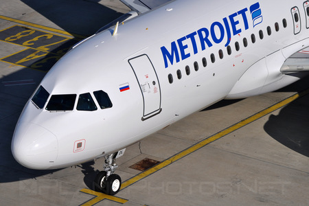 Airbus A320-232 - EI-FDL operated by MetroJet