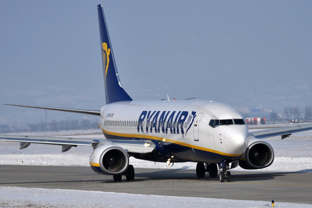 Boeing 737-800 - EI-DWM operated by Ryanair