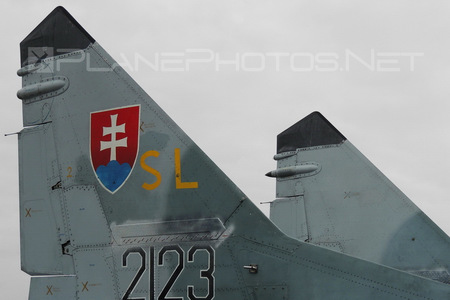 Mikoyan-Gurevich MiG-29AS - 2123 operated by Vzdušné sily OS SR (Slovak Air Force)