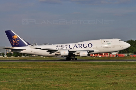 Boeing 747-400SF - TC-ACF operated by Saudi Arabian Airlines Cargo (myCARGO)