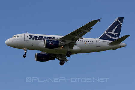 Airbus A318-111 - YR-ASB operated by Tarom