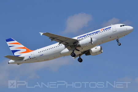 Airbus A320-214 - OK-LEF operated by Smart Wings
