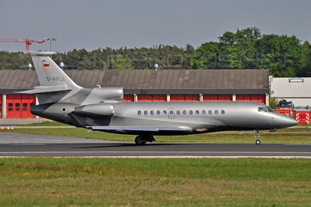 Dassault Falcon 7X - D-APLC operated by ACM Air Charter