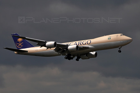 Boeing 747-8F - HZ-AI4 operated by Saudi Arabian Airlines Cargo