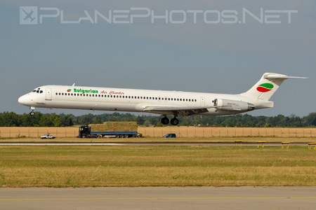 McDonnell Douglas MD-82 - LZ-LDU operated by Bulgarian Air Charter