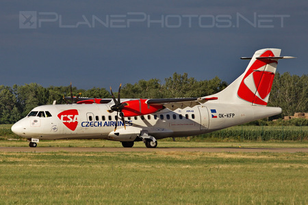 ATR 42-500 - OK-KFP operated by CSA Czech Airlines