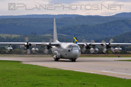 Lockheed Tp84 Hercules - 84002 operated by Flygvapnet (Swedish Air Force)