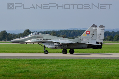Mikoyan-Gurevich MiG-29AS - 6425 operated by Vzdušné sily OS SR (Slovak Air Force)