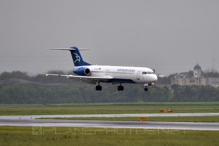 Fokker 100 - 4O-AOK operated by Montenegro Airlines