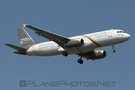 Airbus A320-232 - SU-NMA operated by Nesma Airlines