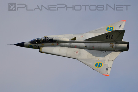 Saab Sk 35C Draken - SE-DXP operated by Swedish Air Force Historic Flight