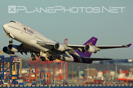 Boeing 747-400 - HS-TGG operated by Thai Airways