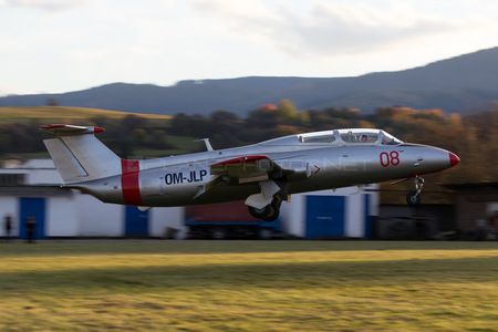 Aero L-29 Delfin - OM-JLP operated by Private operator