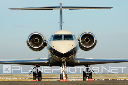 Gulfstream G550 - OK-VPI operated by ABS Jets