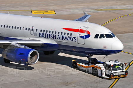 Airbus A319-131 - G-EUPB operated by British Airways