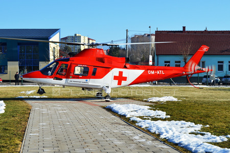 Agusta A109K2 - OM-ATL operated by Air Transport Europe