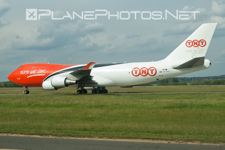 Boeing 747-400ERF - OO-THA operated by TNT Airways