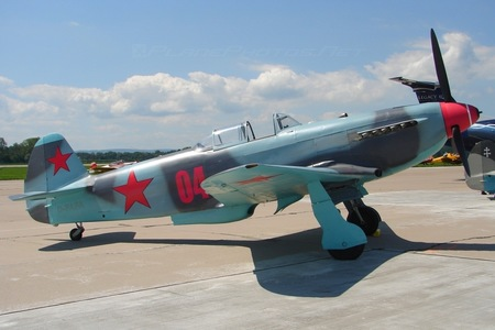 Yakovlev Yak-9U-M - D-FAFA operated by Private operator