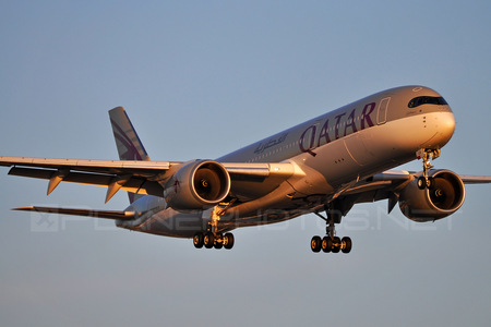 Airbus A350-941 - A7-ALA operated by Qatar Airways