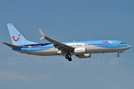 Boeing 737-800 - D-ATUO operated by TUIfly