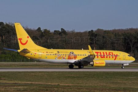 Boeing 737-800 - D-AHFT operated by TUIfly