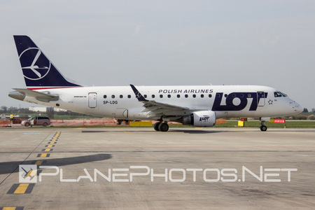 Embraer E170LR (ERJ-170-100LR) - SP-LDG operated by LOT Polish Airlines