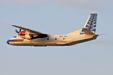 Antonov An-26 - YL-RAC operated by Raf-Avia Airlines