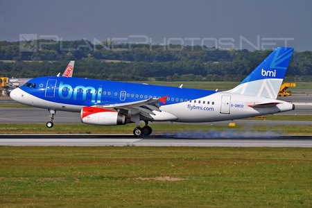 Airbus A319-131 - G-DBCD operated by bmi British Midland