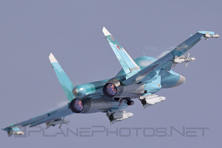 Sukhoi Su-34 - 38 operated by Voyenno-vozdushnye sily Rossii (Russian Air Force)
