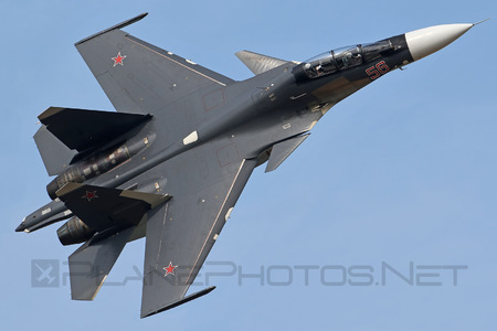 Sukhoi Su-30SM - 56 operated by Voyenno-vozdushnye sily Rossii (Russian Air Force)