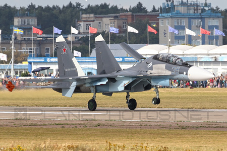 Sukhoi Su-30SM - 38 operated by Voyenno-vozdushnye sily Rossii (Russian Air Force)