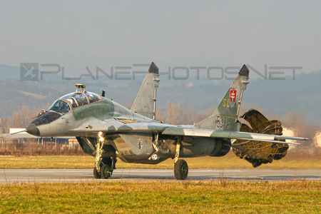 Mikoyan-Gurevich MiG-29UBS - 5304 operated by Vzdušné sily OS SR (Slovak Air Force)