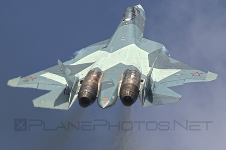 Sukhoi T-50 - 054 operated by Sukhoi Design Bureau