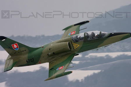 Aero L-39ZA Albatros - 4707 operated by Vzdušné sily OS SR (Slovak Air Force)