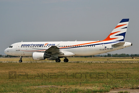 Airbus A320-214 - OK-HCB operated by Smart Wings