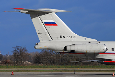 Tupolev Tu-134A-3 - RA-65729 operated by Voyenno-vozdushnye sily Rossii (Russian Air Force)
