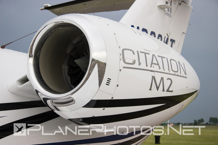 Cessna 525 Citation M2 - N862MT operated by Cessna Aircraft Company