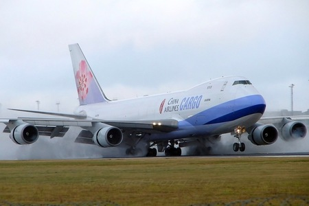 Boeing 747-400F - B-18706 operated by China Airlines Cargo